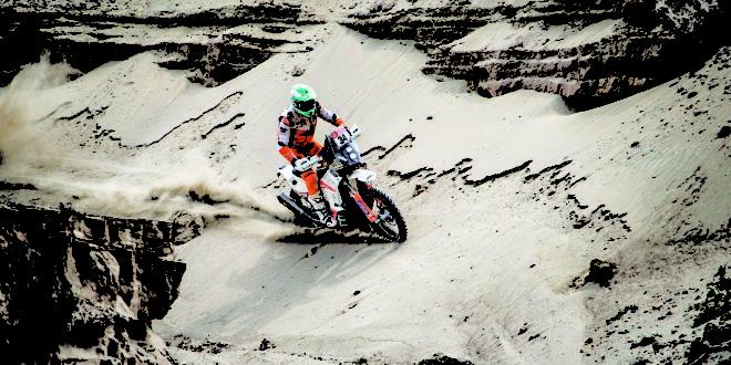 Mário Patrão entra no Top 20 do Dakar 2019