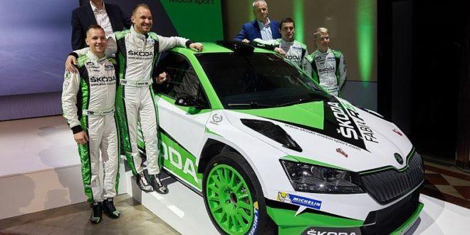 Skoda inscrita WRC2 Pro