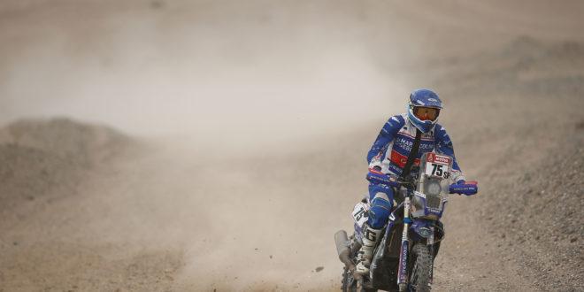 António Maio termina difícil etapa e é 6º entre os Rookies