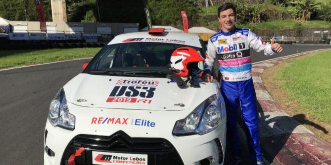 João Vairinhos  testou Citroen do Troféu DS3 R1