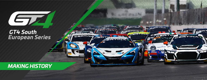 Equipas entusiasmadas com as GT4 South European Series