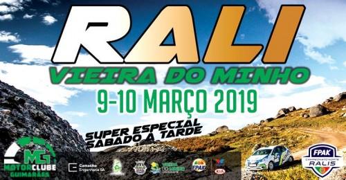 Rali Vieira do Minho é a prova que se segue no Campeonato Norte de Ralis