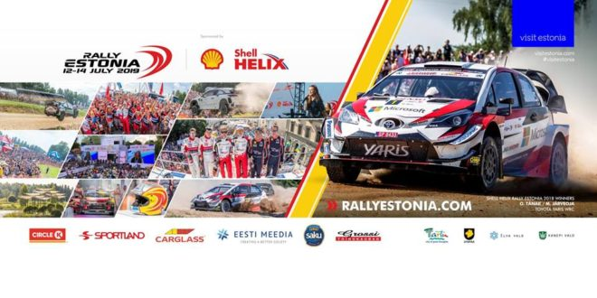 RALLY ESTONIA candidata-se ao WRC