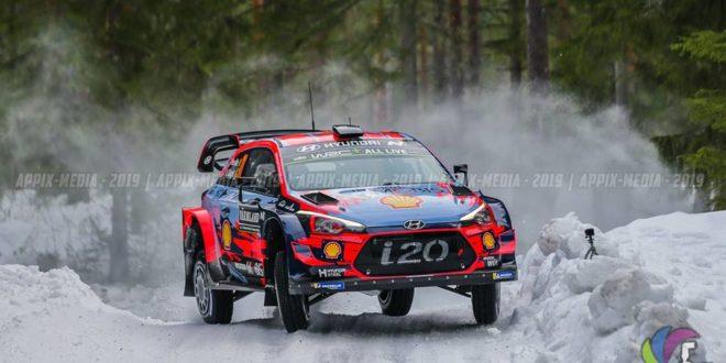 WRC: Rallye da Suécia – Neuville o primeiro líder