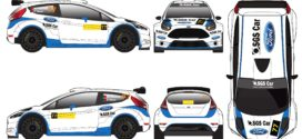 SGS Car Racing de Ford Fiesta R5 no Rali de Fafe