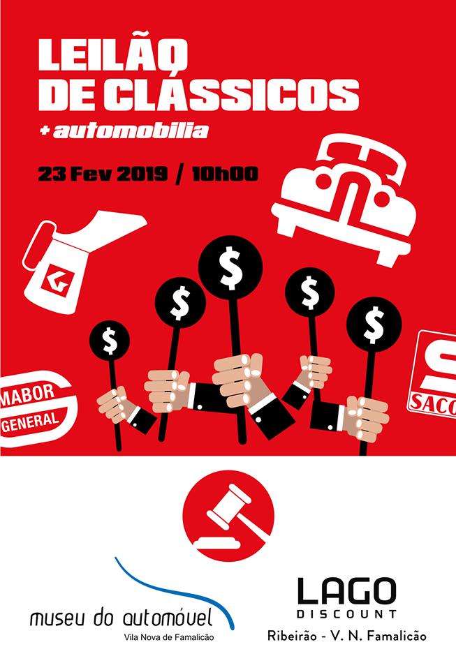Leilão abre calendário de actividades de 2019 do Museu do Automóvel de Famalicão