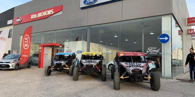 SGS Car Racingcom três pilotos em Góis
