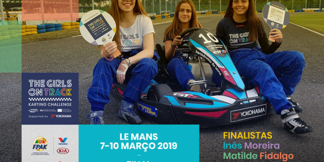 Finalistas do The Girls on Track em testes este fim-de-semana  No Kartódromo do Leiria