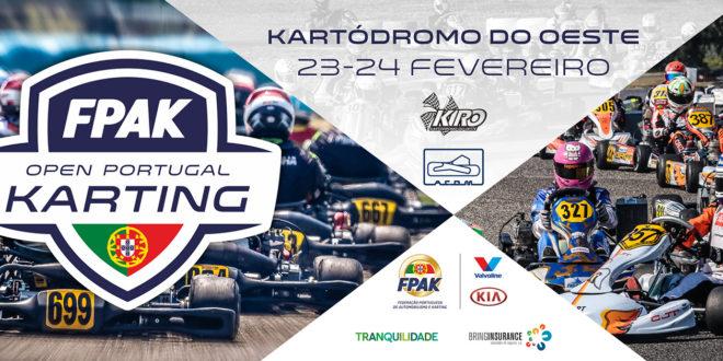 Open de Portugal de Karting abre época 2019 da modalidade