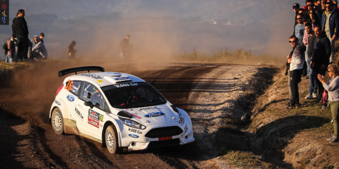Ford Fiesta R5 da SGS Car Racing supera expectativas