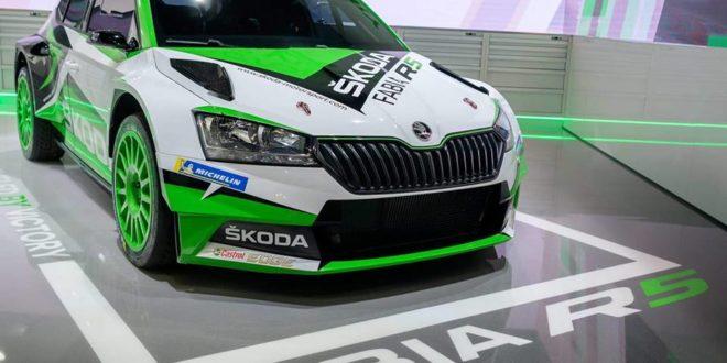 O novo Skoda Fabia R5 oficialmente apresentado
