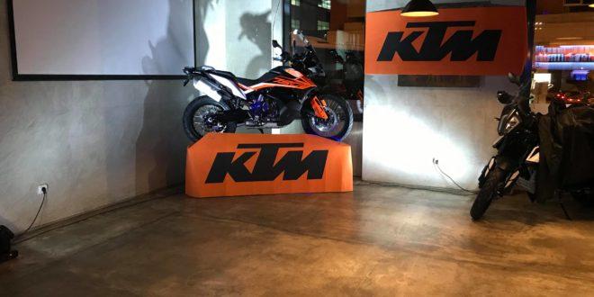 Lançamento especial Caismotor mostrou gama KTM 2019