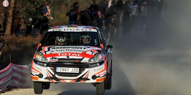 Hugo Lopes em prova de descobertas no Azores Rally