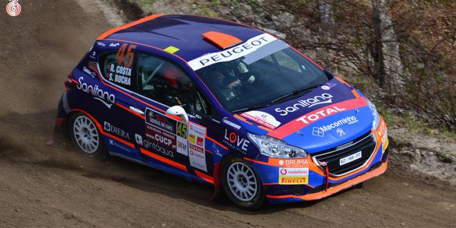 Ricardo Costa Jr. tem estreia azarada na Peugeot Rally Cup Iberica