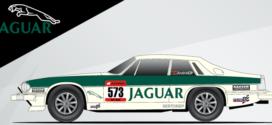 André Castro Pinheiro corre com um Jaguar XJS V12 no Group 1