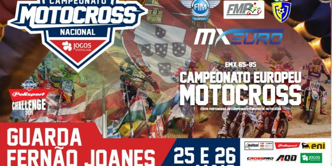 68 pilotos enchem ronda do Europeu MX