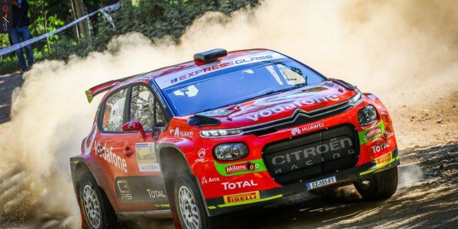 JOSÉ PEDRO FONTE E INÊS PONTE APOSTADOS EM VENCER  COM O C3 R5 NA JORNADA PORTUGUESA DO WRC