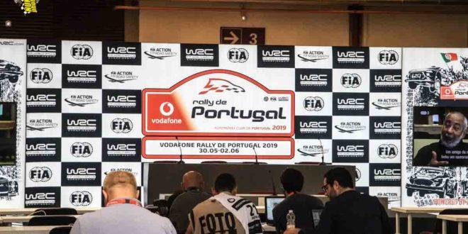 WRC VODAFONE RALLY DE PORTUGAL ADIADO