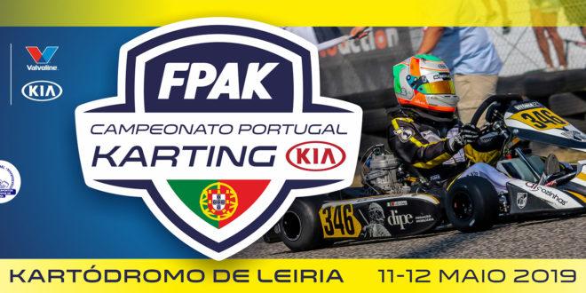 Campeonato de Portugal de Karting KIA estreia novo asfalto em Leiria