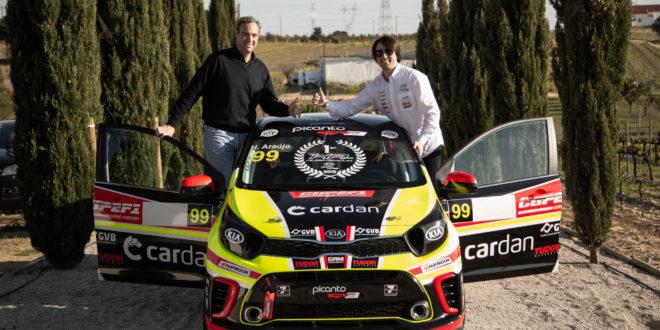 Hugo Araújo com a CRM Motorsport no Campeonato de Portugal de Ralis