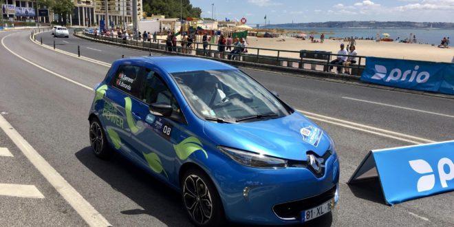 Vitória histórica do Renault ZOE no Oeiras Ecorally