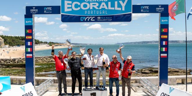 Nuno Serrano e Alexandre Berardo vencem Oeiras Eco Rally Portugal