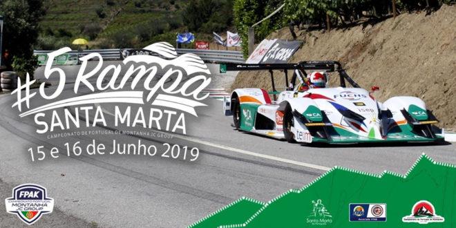 5ª Rampa de Santa Marta promete muita emoção e competição a condizer