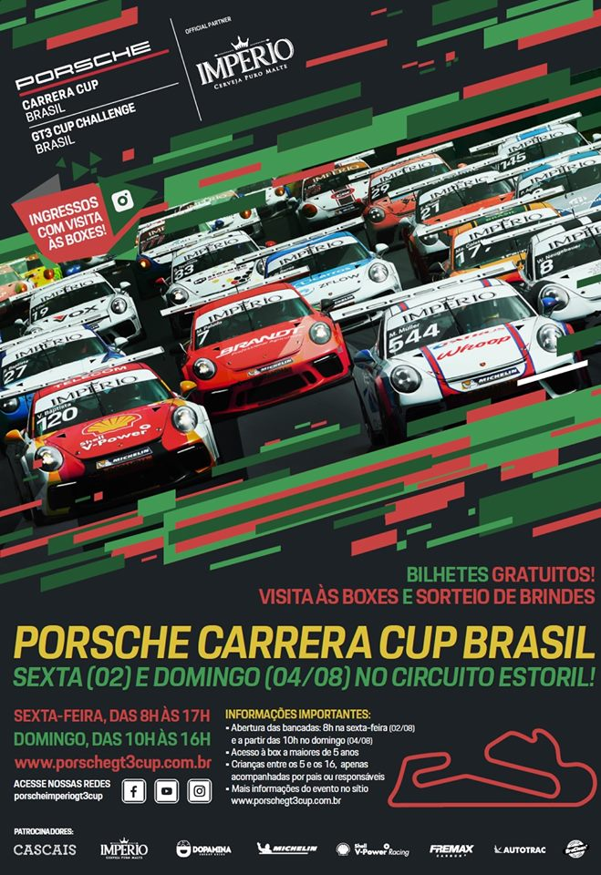 ESTORIL É PALCO DO CAMPEONATO INTERNACIONAL PORSCHE CARRERA CUP