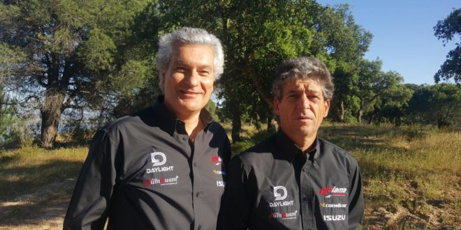 Fernando e Nuno Barreiros na Baja Aragón 2019