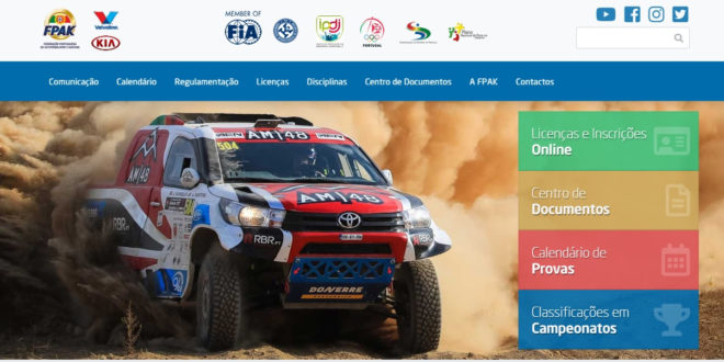 FPAK tem novo site