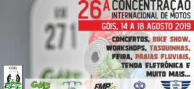 26ª Concentração Góis MC Cinco dias de festa junto ao Ceira