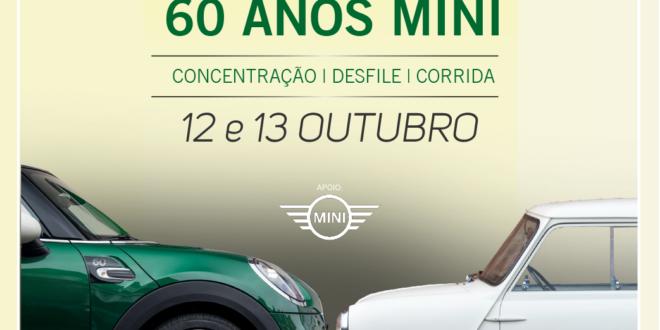 MINI leva celebrações dos 60 anos ao Estoril Classics – Corridas – Desfile – Exposição