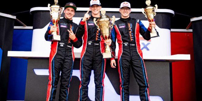 Topi Heikkinen e Timmy Hansen vencem na batalha pelo título na Áustria