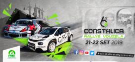 Lista de inscritos 6º Constalica Rallye Vouzela