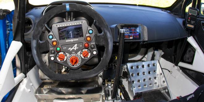 Alpine A110 Rally pronto para entrar em ação