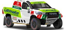 Miguel Barbosa de Toyota Overdrive na Baja Portalegre 500