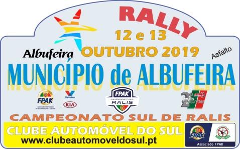 Rally Município de Albufeira realiza-se a 12 e 13 de Outubro