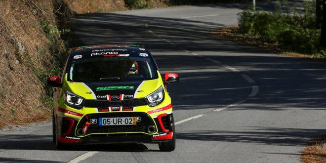 Ambição redobrada para Hugo Araújo e o Kia Picanto GT Cup no Rallye Vidreiro Centro de Portugal!