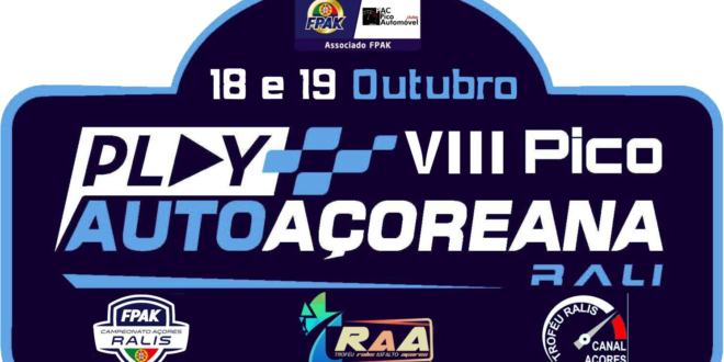 VIII Pico Play Auto Açoreana Rali encerra Campeonato dos Açores de Ralis