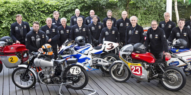 Spirit of Speed com motos raras no Estoril Classics
