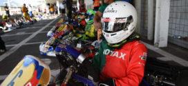 Salvador Trindade no pódio nas Finais Mundiais Rotax em Itália