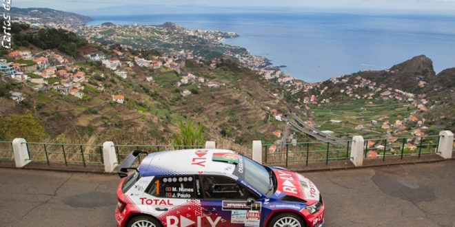 Miguel Nunes e João Paulo vencem Rali Municípios do Funchal e Câmara de Lobos