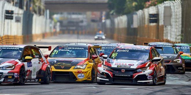 Tiago Monteiro com os resultados possíveis em Macau