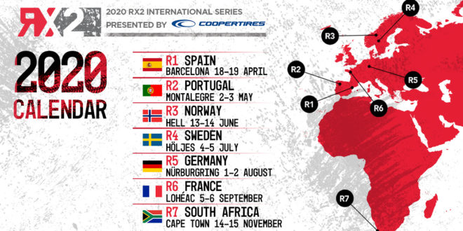 Montalegre recebe RX2 International Rallycross Series em 2020