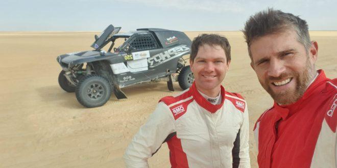 Pedro Bianchi Prata de SSV no Dakar 2020