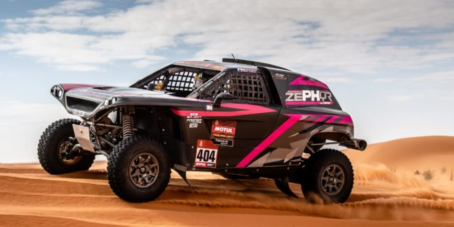 Pedro Bianchi Prata é 4º no Dakar da Arábia Saudita
