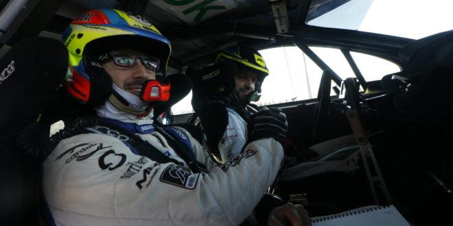 Pedro Almeida e Hugo Magalhães com a The Racing Factory