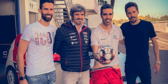 Kia Picanto GT Cup promove batismo de pista memorável aos capitães do Belenenses Futebol SAD!