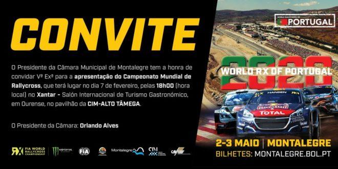 WRX Montalegre apresentado em Ourense
