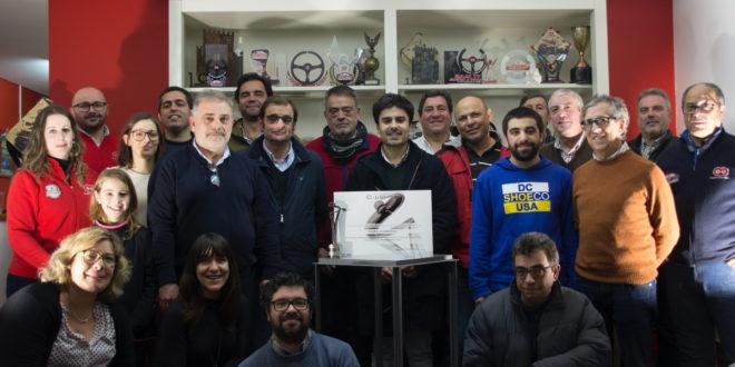 """Escuderia Castelo Branco recebe o prémio de mérito desportivo 2019 """"Personalidade do Ano"""" da Confederação do Desporto"""